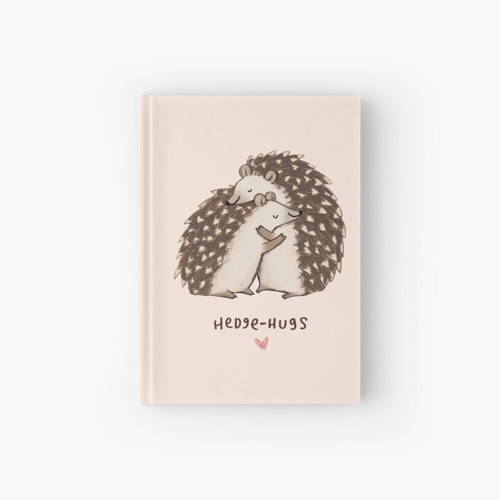 Hedge-hugs Hardcover Journal
