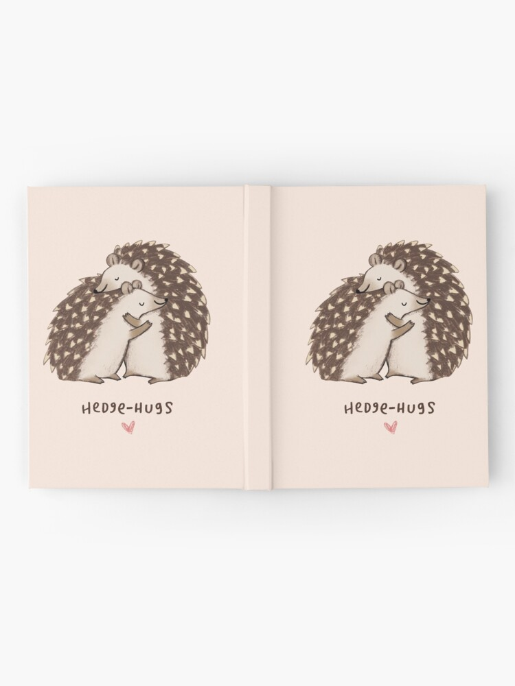 Alternate view of Hedge-hugs Hardcover Journal