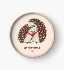 Hedge Hugs Clock