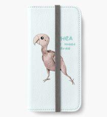 Rhea the Naked Birdie iPhone Wallet/Case/Skin