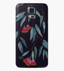 Eucalyptus leaves and flowers on dark Case/Skin for Samsung Galaxy