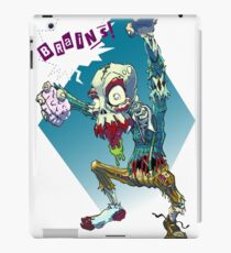 Zombies Need Brains iPad Case/Skin