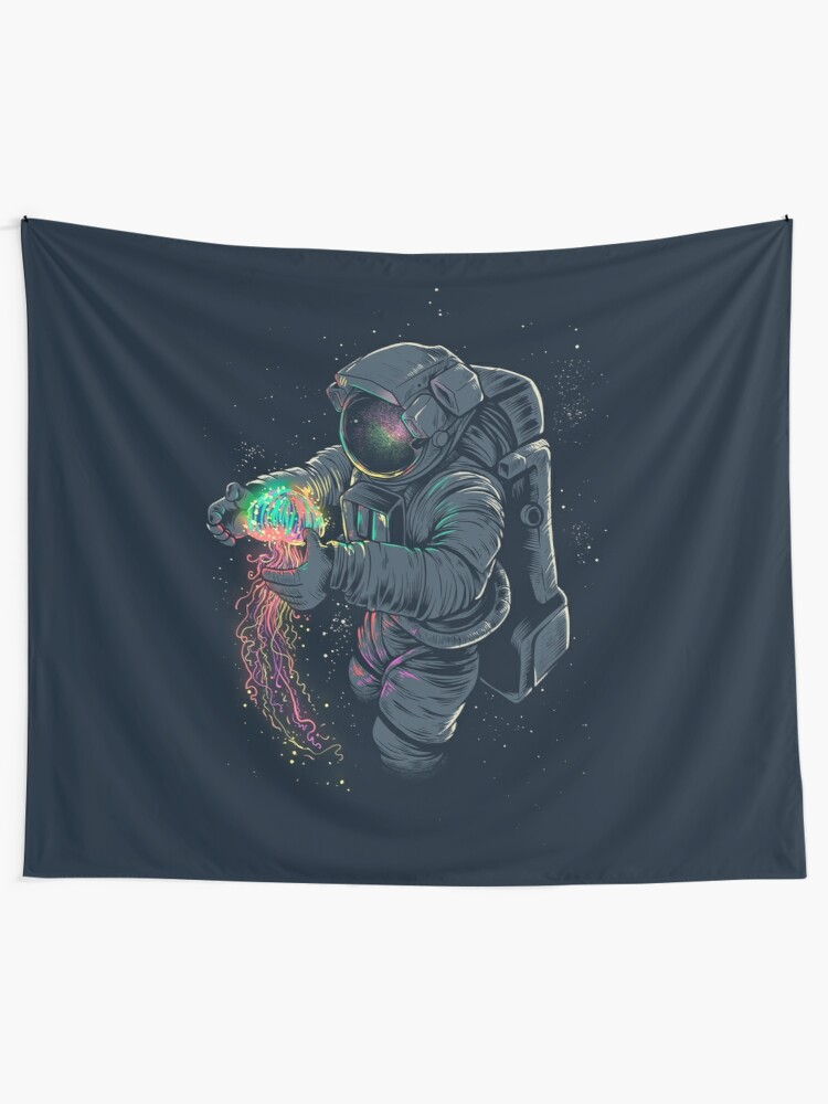 Alternate view of Jellyspace Tapestry