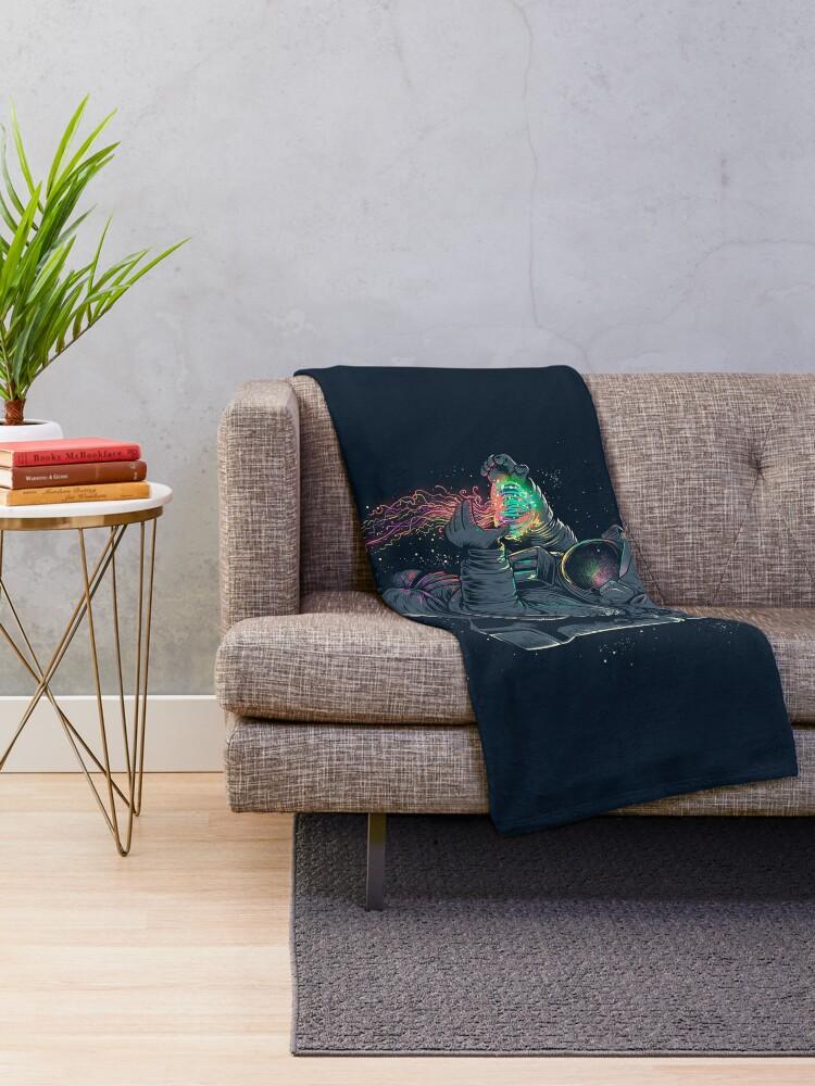 Alternate view of Jellyspace Throw Blanket