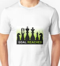 goal reached mission accomplished T-Shirt