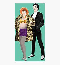 The Cramps, Lux and Ivy Photographic Print