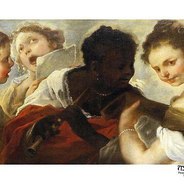 Four Female Musicians by medievalpoc