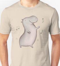 Dancing Hippo Unisex T-Shirt