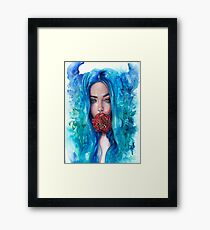 Rose Trap Framed Print