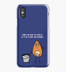 Vegans unite! iPhone Case/Skin