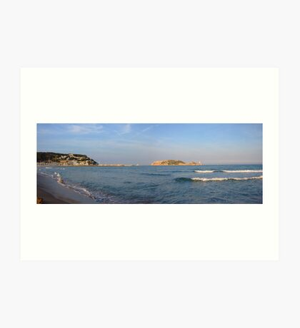 From L'Estartit Beach Art Print