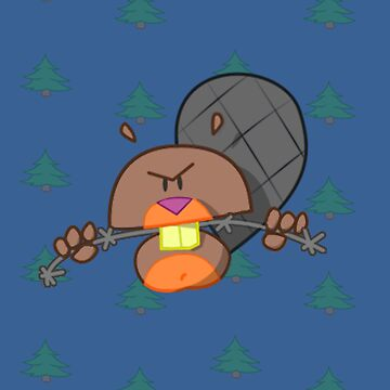 Evil Beaver by StudioColrouphobia