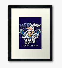 Earthworm Gym Framed Print
