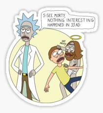 Rick & Morty - Easter Sticker