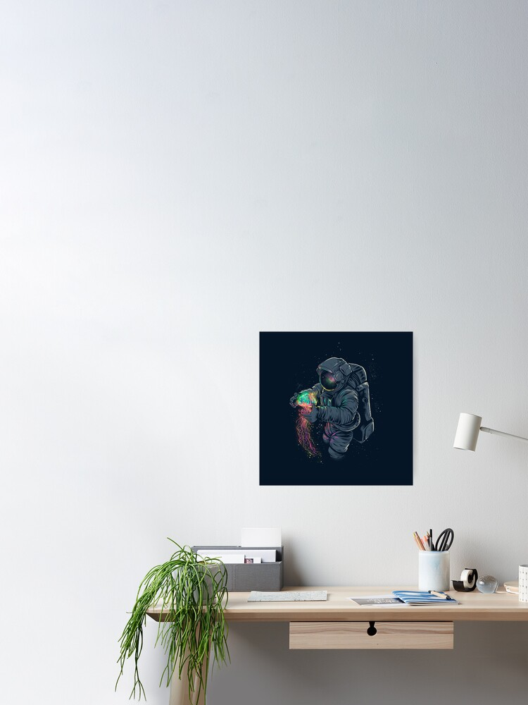 Alternate view of Jellyspace Poster