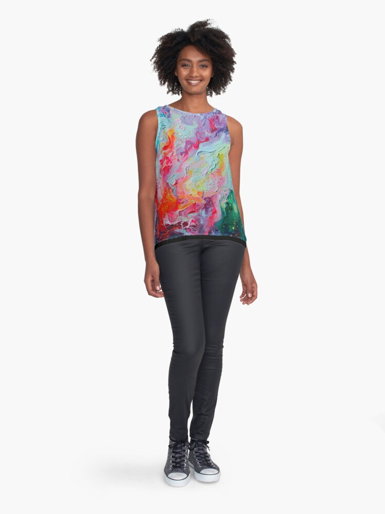 Alternate view of Elements - Spectrum Abstraction Sleeveless Top