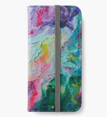 Elements - Spectrum Abstraction iPhone Wallet/Case/Skin
