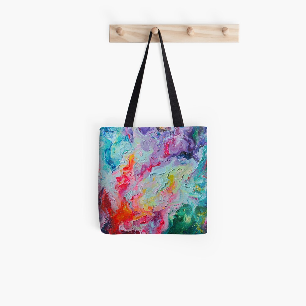 Elements - Spectrum Abstraction Tote Bag