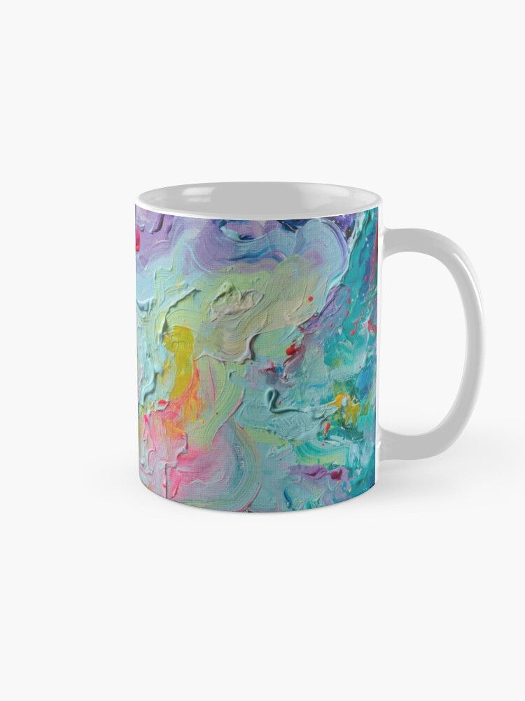 Alternate view of Elements - Spectrum Abstraction Mug