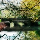 Misty Bridge by Ann Garrett