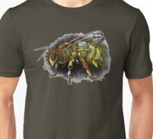 Tampered Temper: Steampunk Honeybee Unisex T-Shirt
