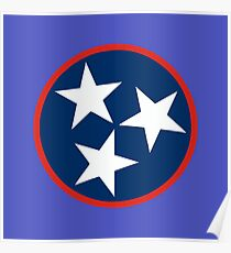 State of Tennessee Poster