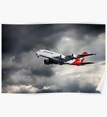 Quantas A380 Poster