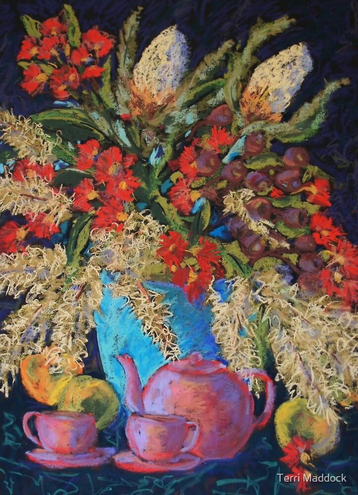 Summer flowers still life by Terri Maddock