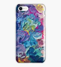 Rainbow Flow Abstraction iPhone Case/Skin