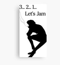 Cowboy Bebop - Lets Jam Canvas Print