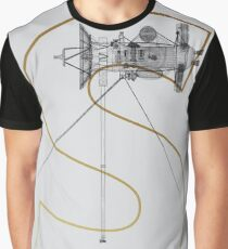 Cassini gold letter Graphic T-Shirt