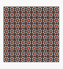 Geometric Pattern Art Photographic Print