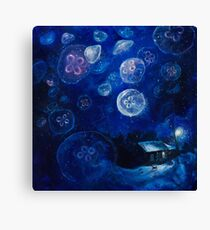 It's Jellyfishing Outside Tonight Canvas Print