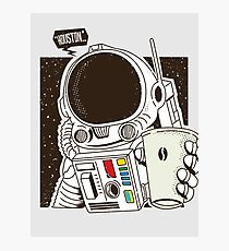 Houston... We have a Coffee!  Photographic Print