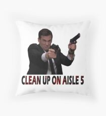 Michael Scarn Throw Pillow