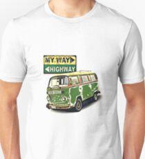 Vw Camper My Way Unisex T-Shirt