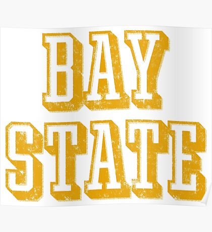 The Bay State - Vintage & Retro Poster
