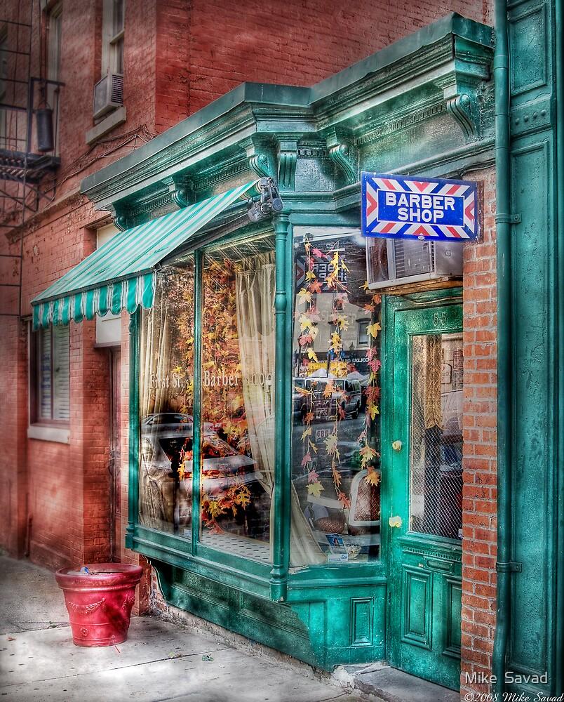 Barber Shop by Michael Savad