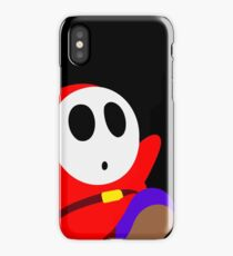 Red Shy Guy iPhone Case/Skin
