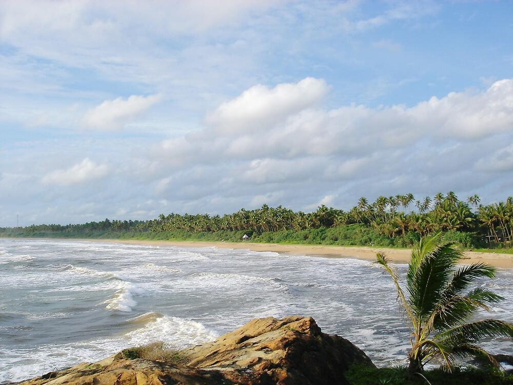 Sri Lankan Beachscape by jonord1