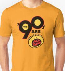 90er sind das alles Slim Fit T-Shirt
