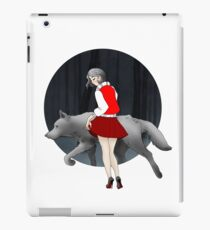 A Girl and The Wolf iPad Case/Skin