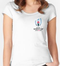 RWC 2019 Women's Fitted Scoop T-Shirt