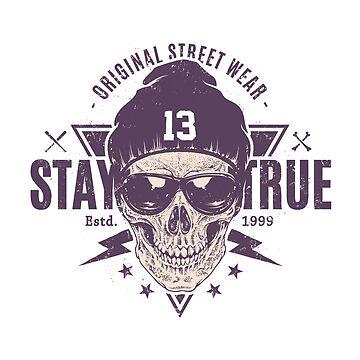 Skeleton Street Wear by cendav
