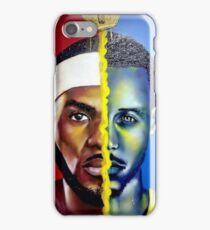 LEBRON STEPHEN CURRY JAMES iPhone Case/Skin