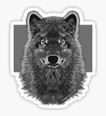 WOLG GRAY Sticker