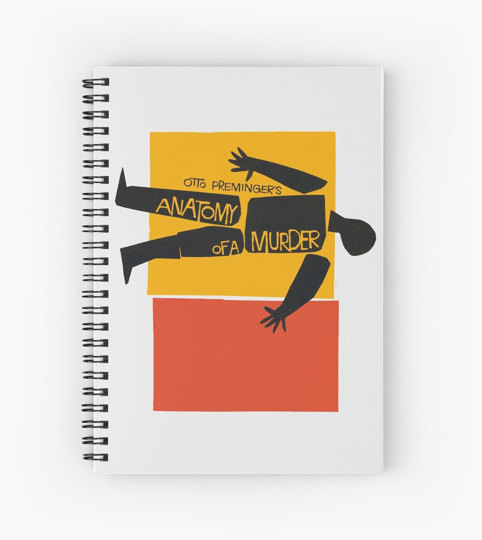 Cuadernos de espiral «ANATOMÍA DE UN ASESINATO» de alphaville ...