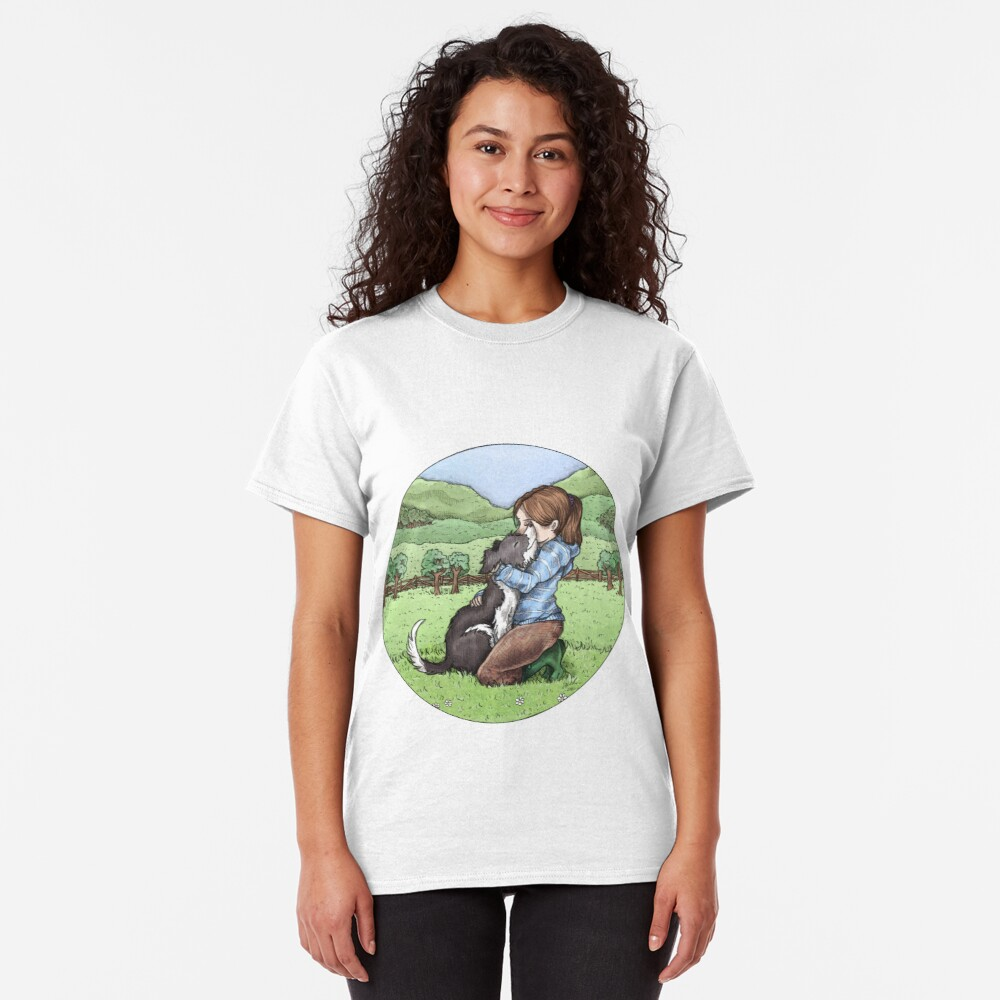 Collie Love Classic T-Shirt