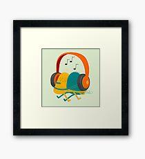 Love song Framed Print