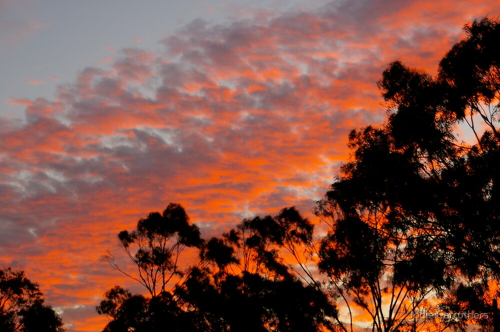 Aussie sunset by Jodie Carruthers